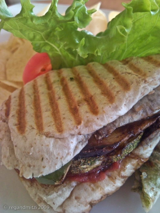 Icings Grilled Vegetable Panini