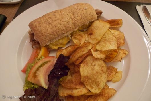 kenny's philly cheese steak sandwich