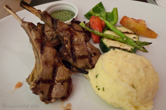 kenny's grilled lamb