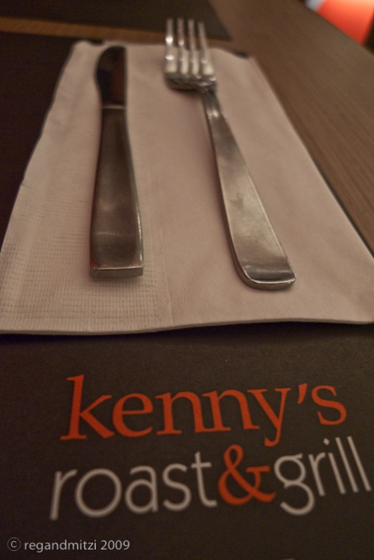 kenny's roaster and grill power plant