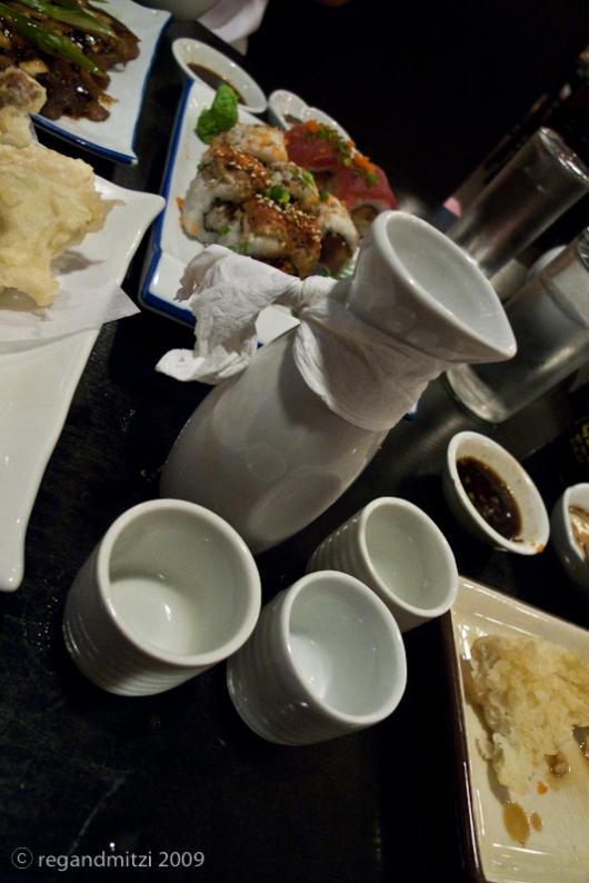 warm sake